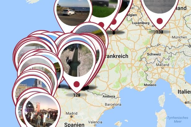 Grosse Fahrt 2016 - Frankreich - Spanien - Portugal