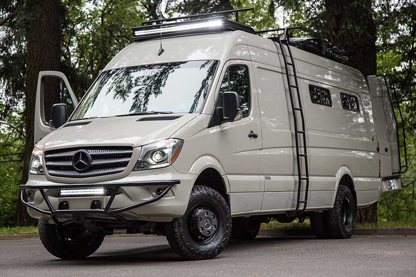 Valhalla 4 215 4 Mercedes Benz Sprinter Mobile Home By Outside