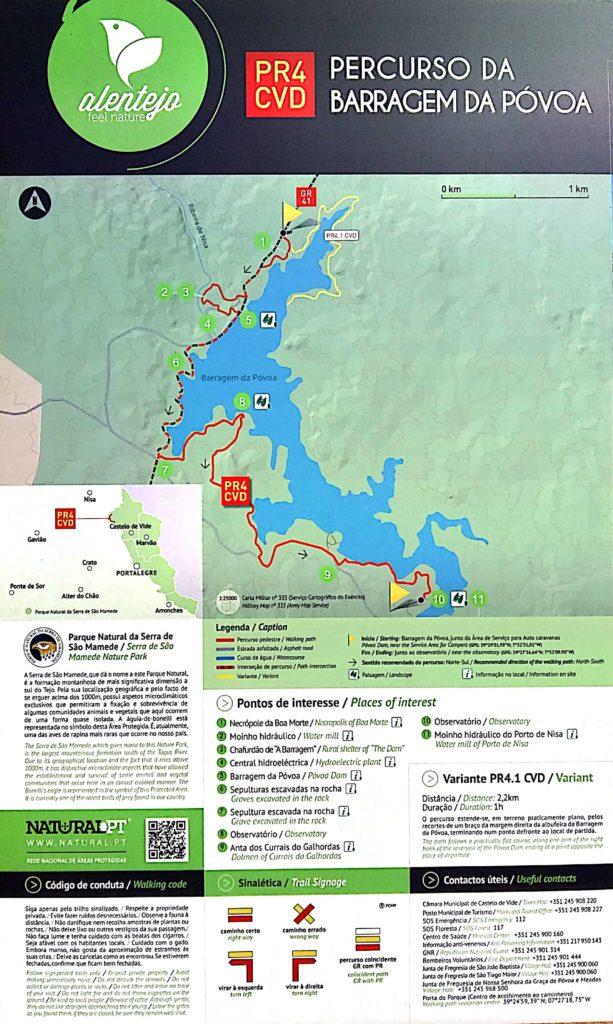 Barragem da Povoa e Meadas - Barragem de Nisa