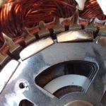 ista Breeze i500 PLUS Windgenerator Magnete aus Halterung gelöst und blockiert den Stator